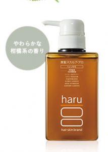 キャピキシル配合のシャンプー haru黒髪スカルプ・プロ